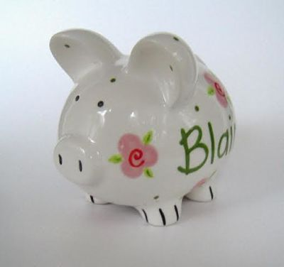 This Little Piggy - Personalized Piggy Bank